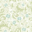 Flower seamless pattern - Stock vektor
