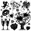 Royalty-Free Stock Imagen vectorial: Valentines Day collection