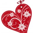 Vector de stock : Valentines Day gift tags