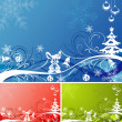 Christmas background — Stock Vector #6942410