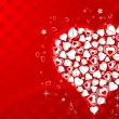 Valentines Day background — Vector de stock #6943508