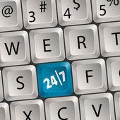 Computer Keyboard — Vector de stock