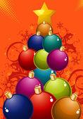 Christmas Tree — Wektor stockowy