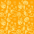 Halloween seamless background — Stock Vector #7057814