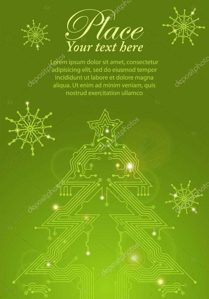 电路板的圣诞树