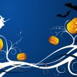 Halloween background — Stock Vector #7073311