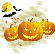 Halloween background — Stock Vector #7073386