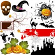 Halloween set - Stockvektor