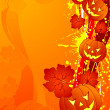 Halloween background - Imagen vectorial