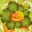 Halloween background - 图库矢量图片