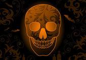 Sfondo di halloween. — Vettoriale Stock