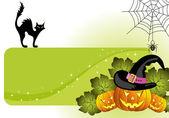 Halloween rám — Stock vektor