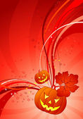 Sfondo di halloween — Vettoriale Stock