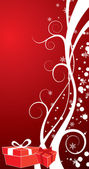 Christmas background, vector — Vector de stock