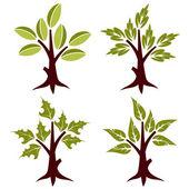 Stylized Tree — Stock Vector