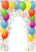 Cornice compleanno — Vettoriale Stock