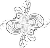 设计、 角花、 矢量元素 — 图库矢量图片