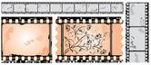 Photographic film, filmstrip, vector — Stock Vector