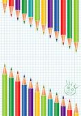 School template — Stock Vector