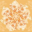 Background flower, elements for design, vector - Stock Vector