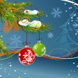Christmas background — Stock Vector #7088560