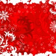 Abstract christmas background - Imagens vectoriais em stock