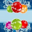 Royalty-Free Stock Vector Image: Christmas frame
