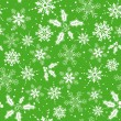 Christmas seamless background — Imagen vectorial