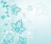 Bakgrunden blomma, element för design — Stockvektor