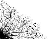 Floral element für design, vektor — Stockvektor