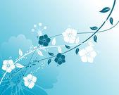 Streszczenie tło kwiatowy — Wektor stockowy
