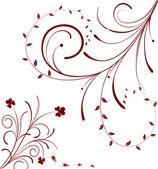 花の抽象化 — ストックベクタ