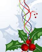 抽象的圣诞节背景 — 图库矢量图片