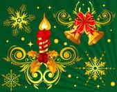 Рождество элемент — Cтоковый вектор