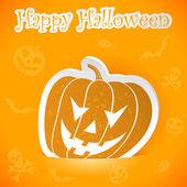 Vignetta di halloween — Vettoriale Stock