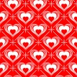 Valentines Day seamless pattern — Stock Vector