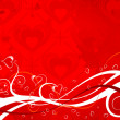 Valentines Day background — Image vectorielle