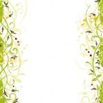 Grunge flower frame — Stock Vector #7418539