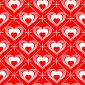Walentynki-dzień bezszwowych wzór — Wektor stockowy