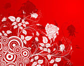 Abstract flower background — Stockvector
