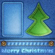 Royalty-Free Stock Imagen vectorial: Christmas Jeans Texture