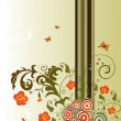 Abstract flower background - Imagen vectorial