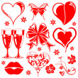 Stock Vector: Valentines Day collection