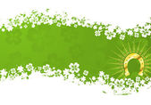 St. Patrick's Day Background — Vector de stock