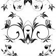 Floral ornament — Stock Vector