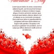 Stockvector : Valentines Day Greeting Card