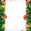 Christmas Frame — Stock Vector #7901476