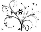 Floral design — Stockvektor