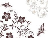 Flower background — Stock Vector