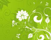 Floral achtergrond — Stockvector